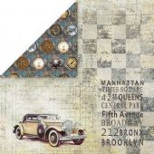 Craft & You 12x12 Scrapbook Paper - Man's World 5 - MAN05
